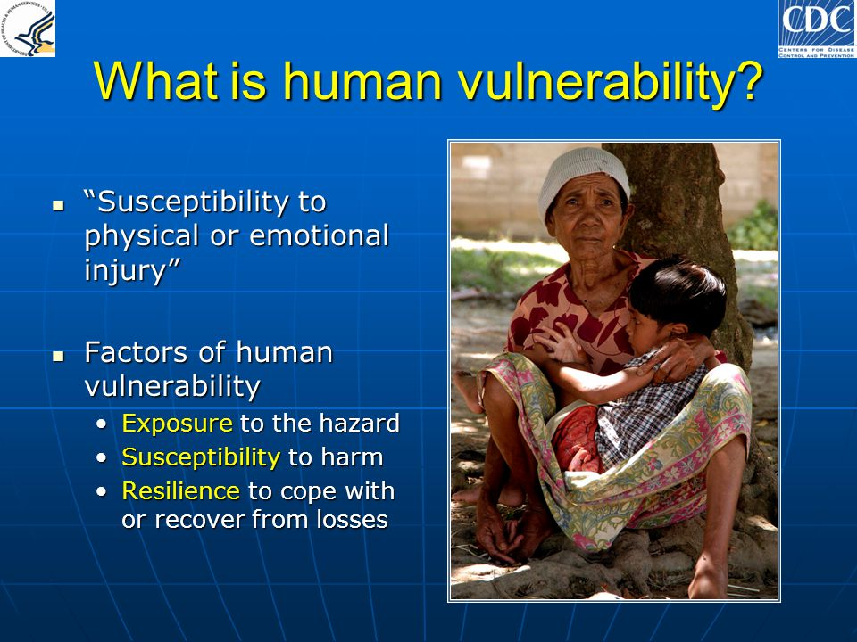 What is human vulnerability