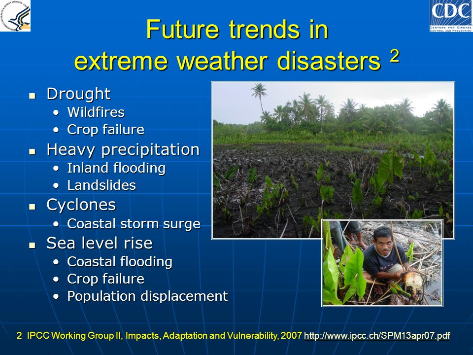 Future trends in extreme weather disasters 2