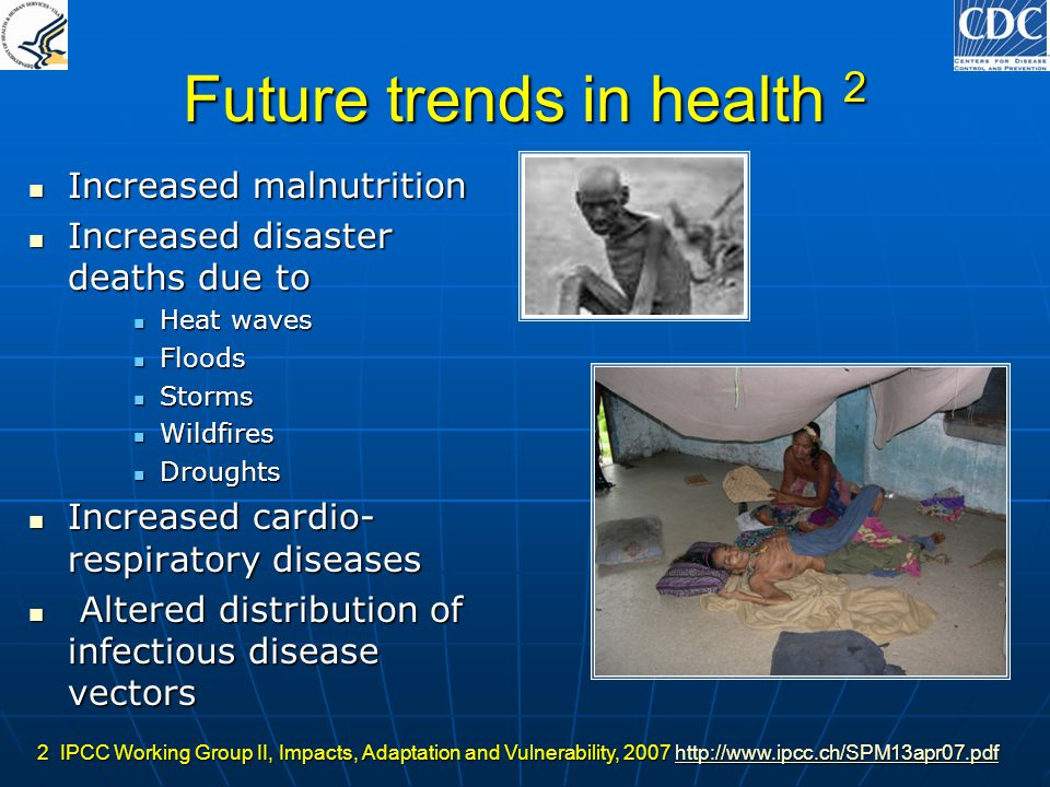 Future trends in health 2