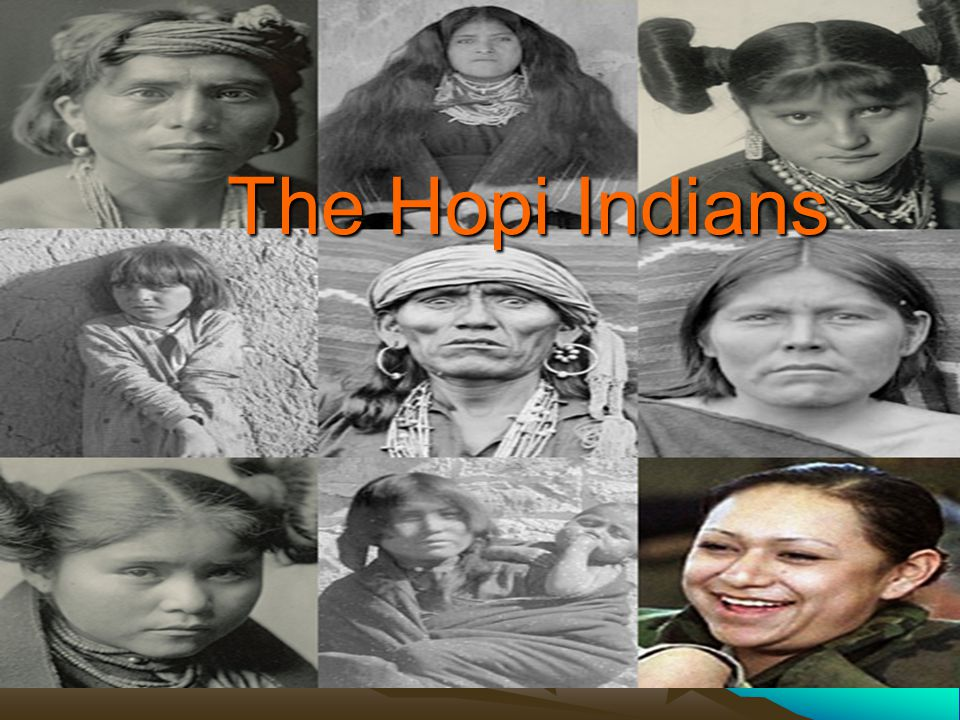 The Hopi Indians