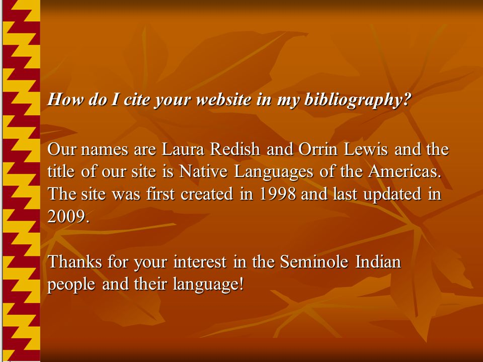 How do I cite your website in my bibliography