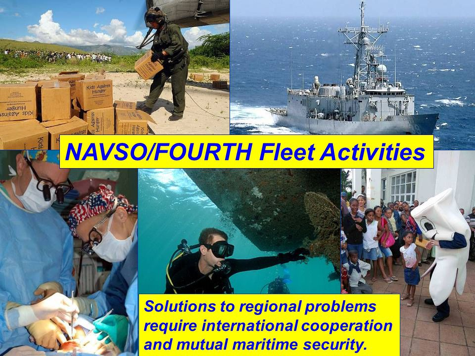 NAVSO/FOURTH Fleet Activities