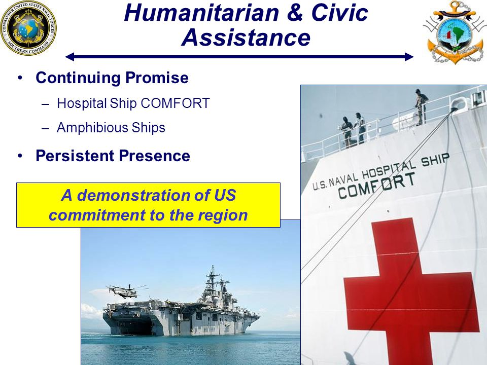 Humanitarian & Civic Assistance