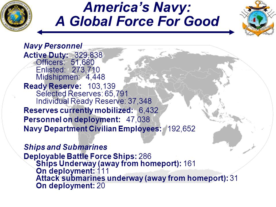 America's Navy: A Global Force For Good