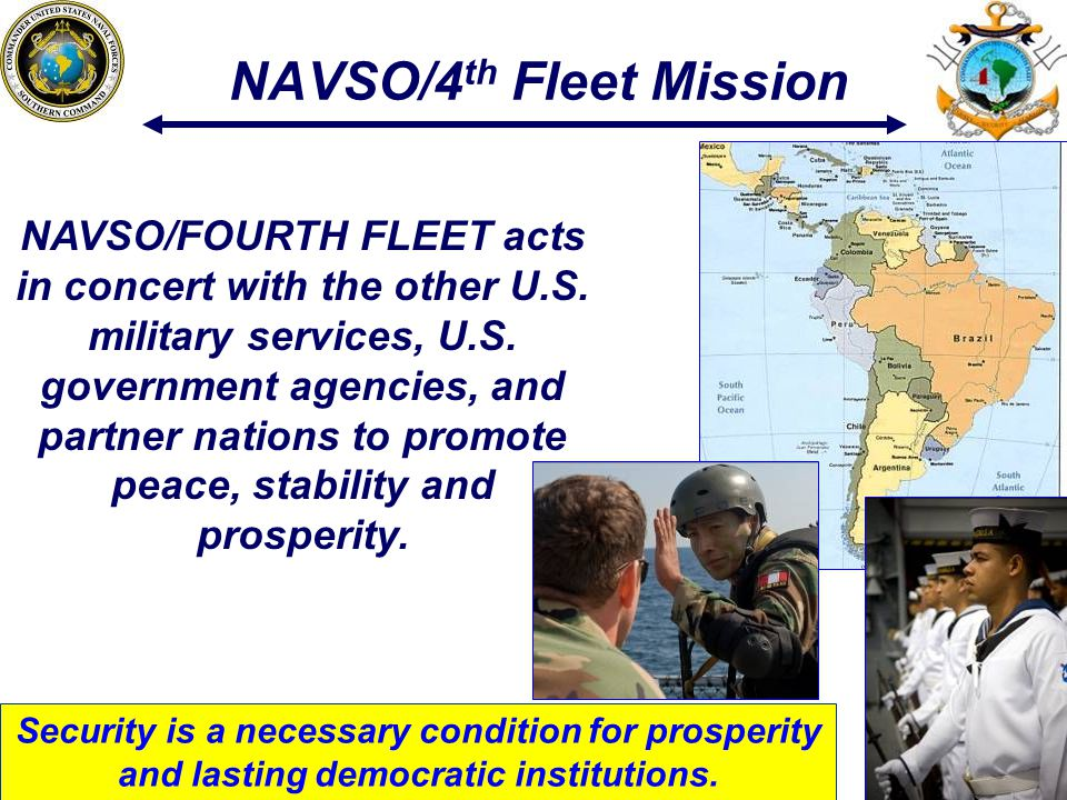 NAVSO/4th Fleet Mission