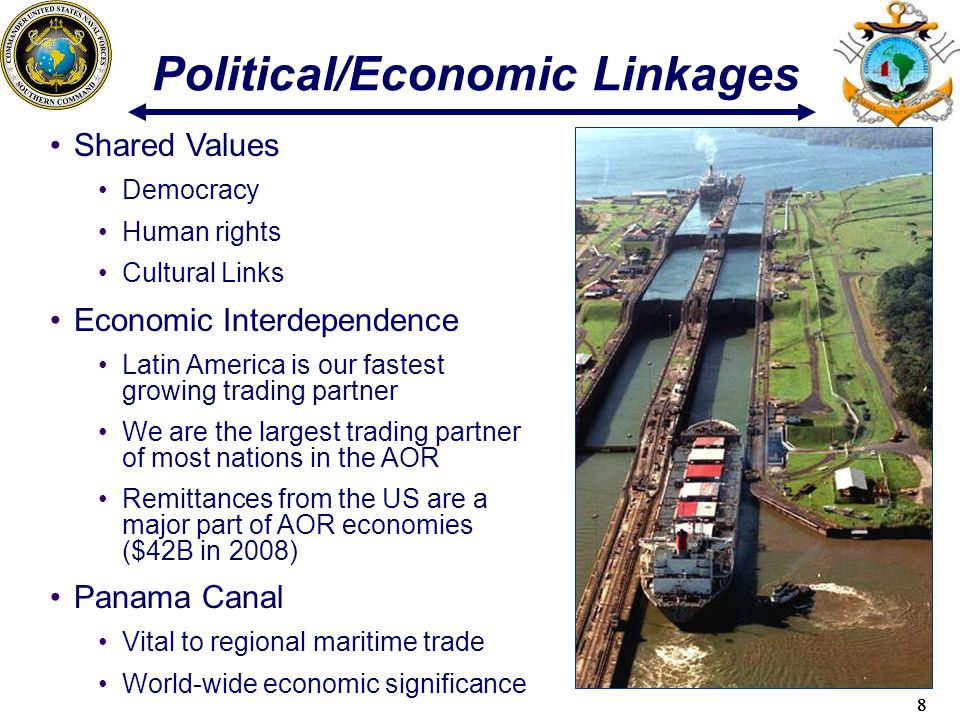 Political/Economic Linkages