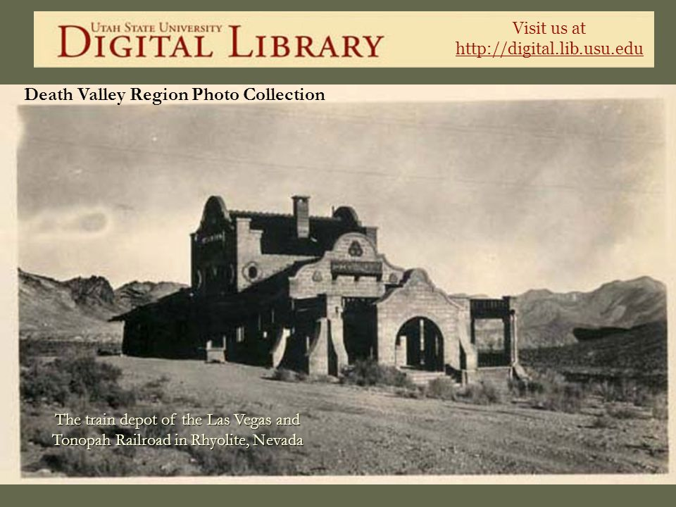 Death Valley Region Photo Collection