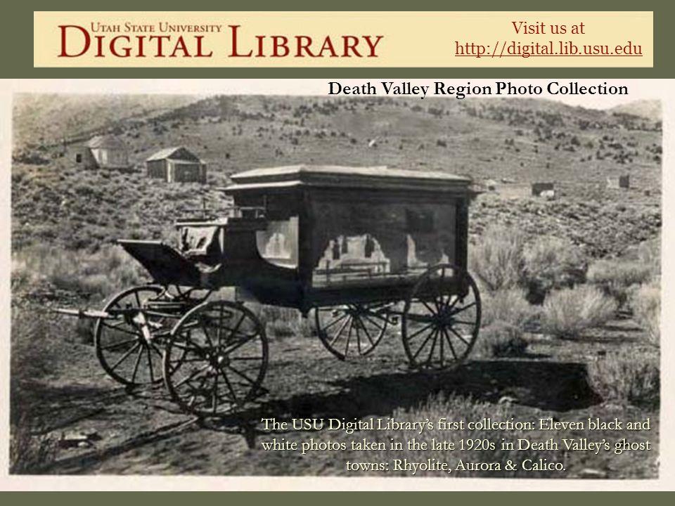 Death Valley Region Photo Collection