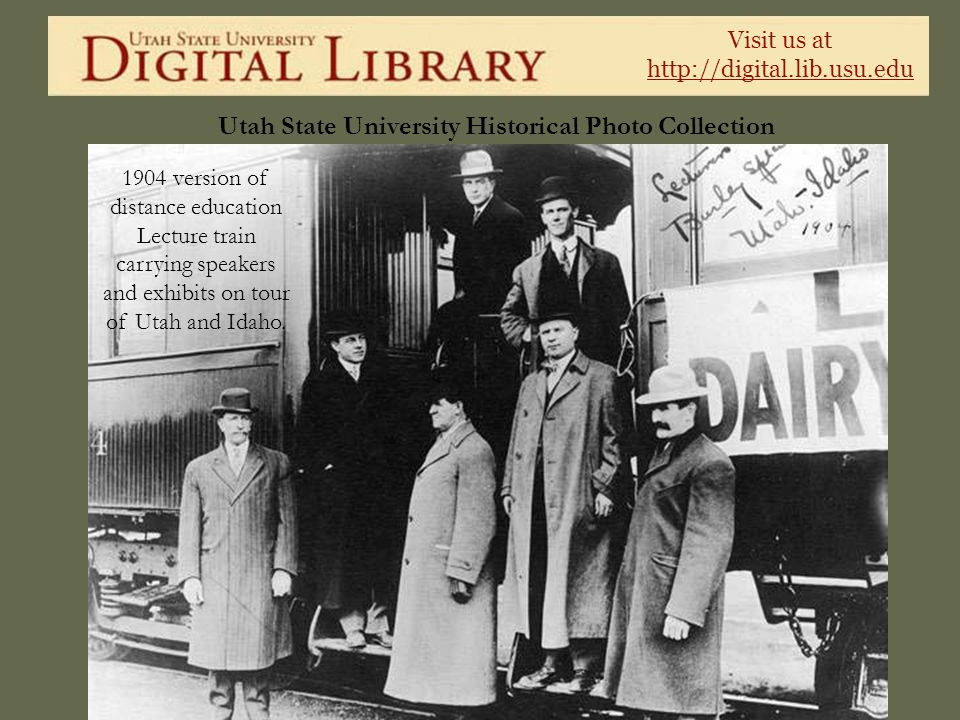 1904 version of distance education