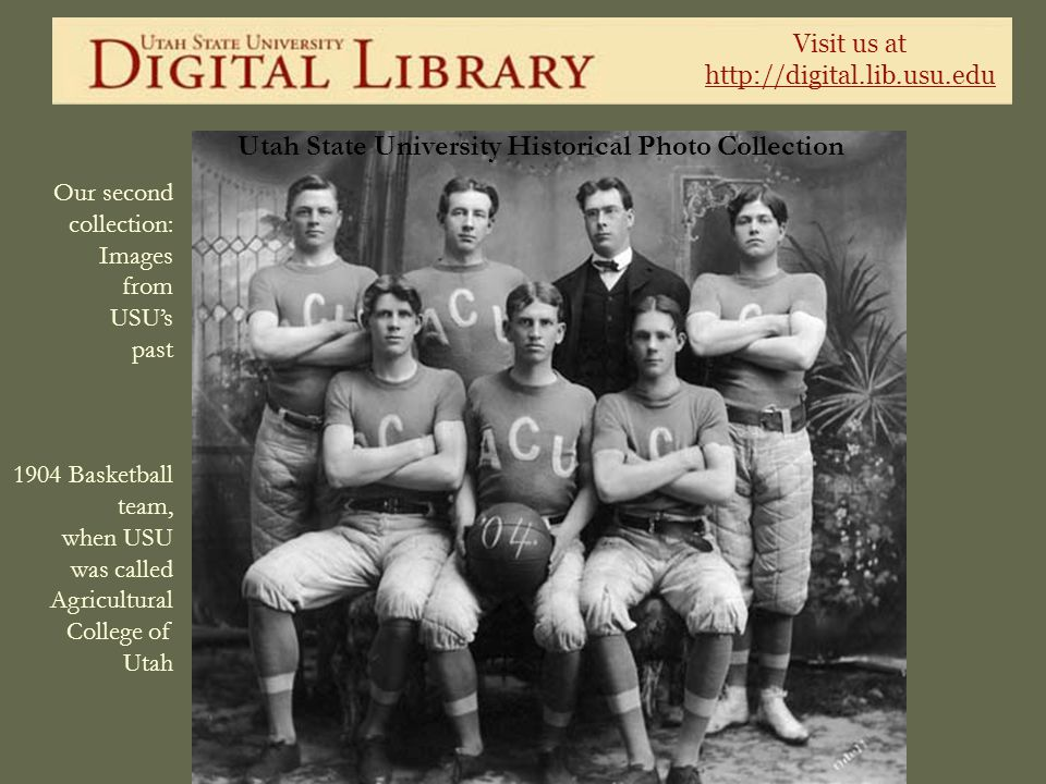 Utah State University Historical Photo Collection