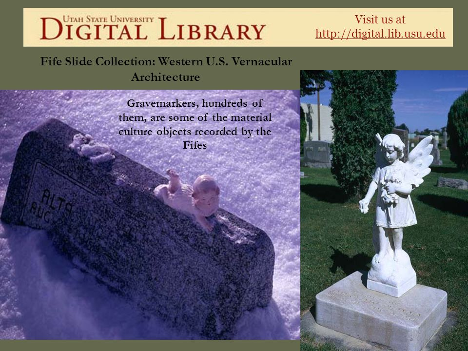 Fife Slide Collection: Western U.S. Vernacular Architecture