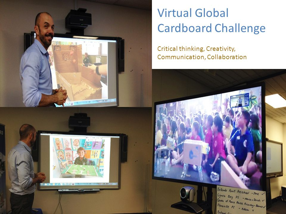 Virtual Global Cardboard Challenge