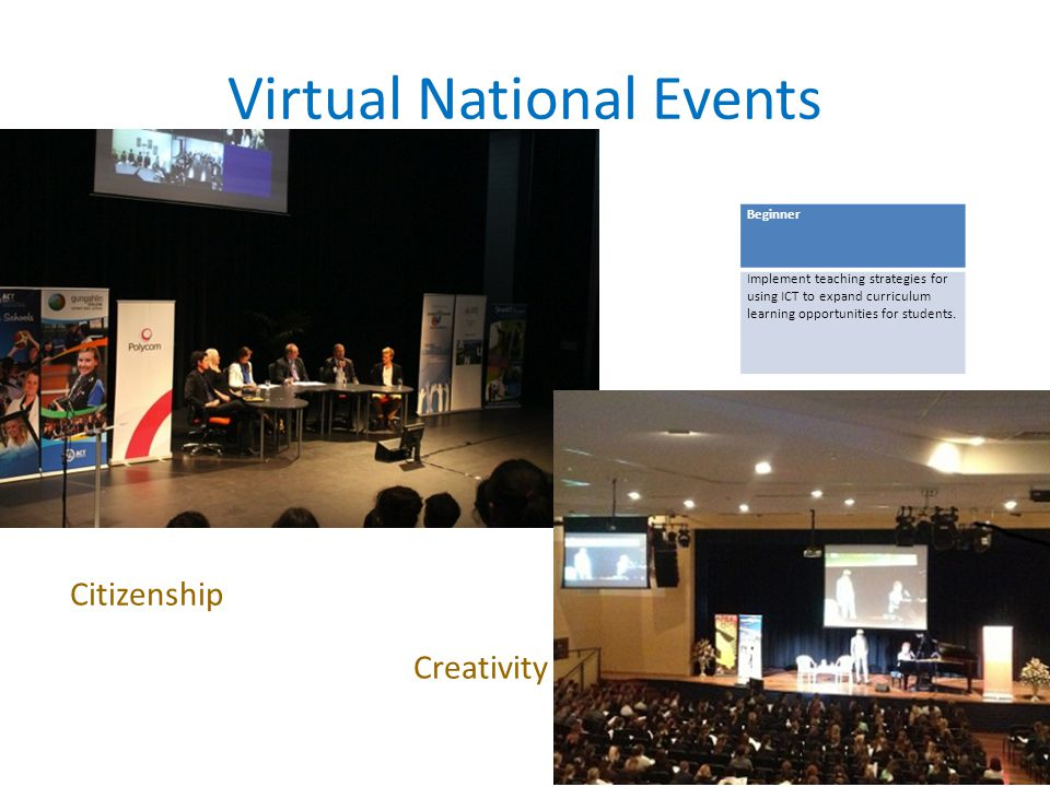 Virtual National Events