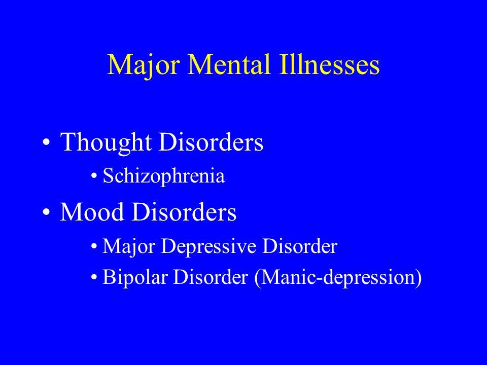 Major Mental Illnesses