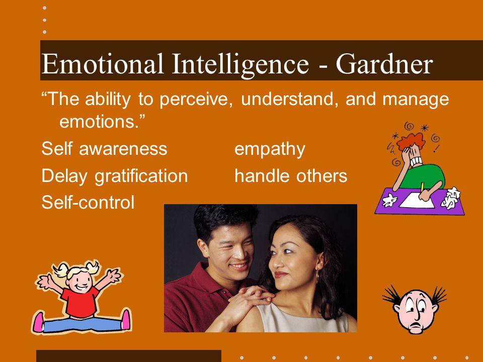 Emotional Intelligence - Gardner