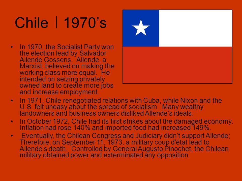 Chile 1970's