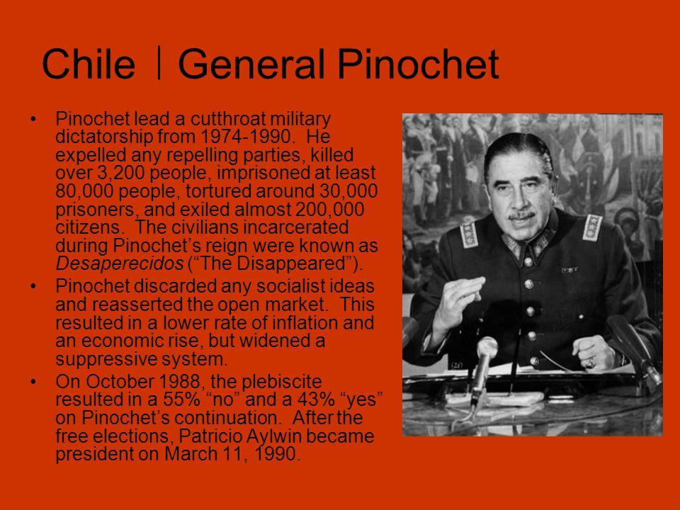 Chile General Pinochet