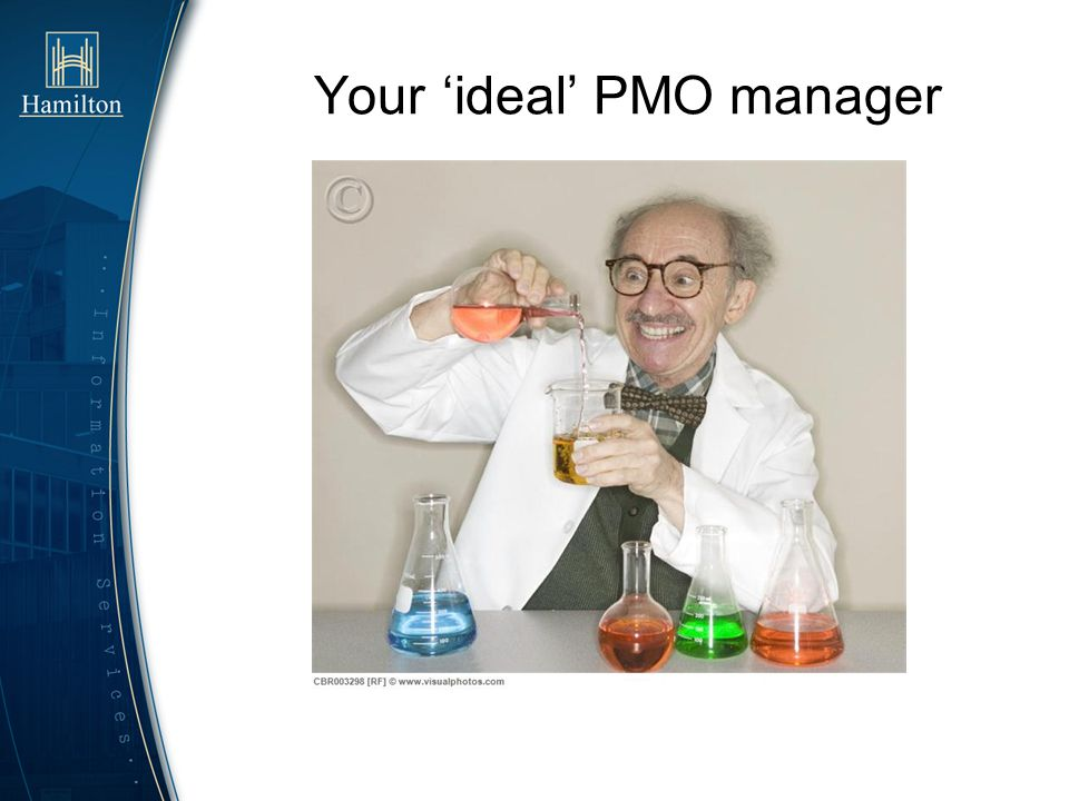 Your 'ideal' PMO manager