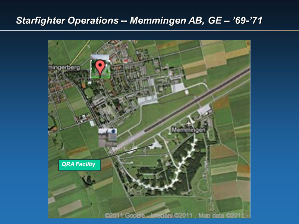 Starfighter Operations -- Memmingen AB, GE – '69-'71