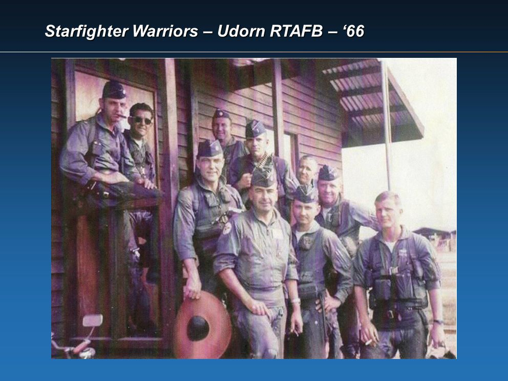Starfighter Warriors – Udorn RTAFB – '66