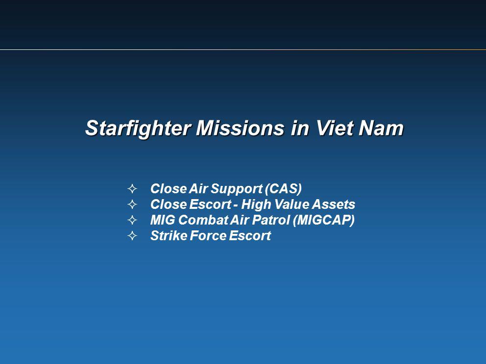 Starfighter Missions in Viet Nam