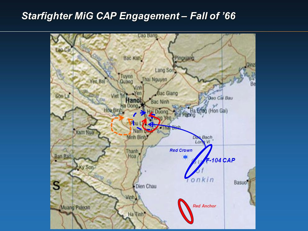 Starfighter MiG CAP Engagement – Fall of '66