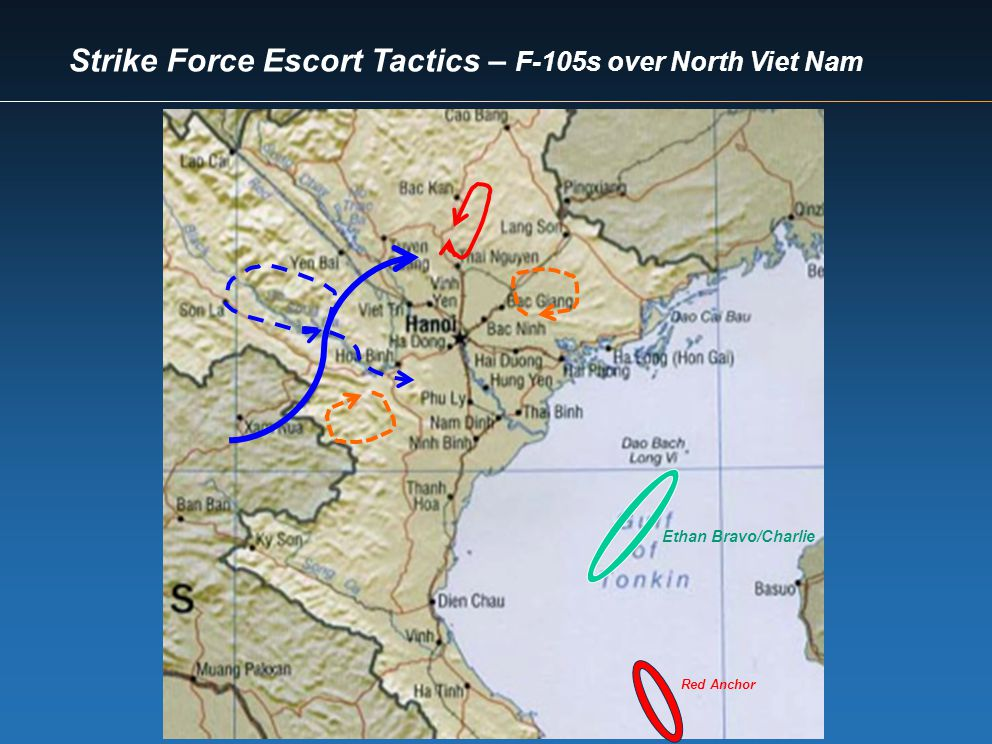 Strike Force Escort Tactics – F-105s over North Viet Nam