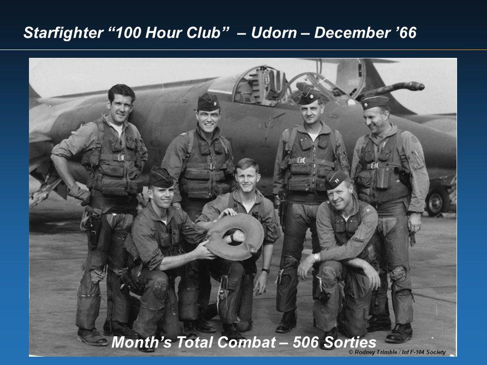 Month's Total Combat – 506 Sorties