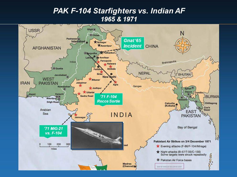 PAK F-104 Starfighters vs. Indian AF