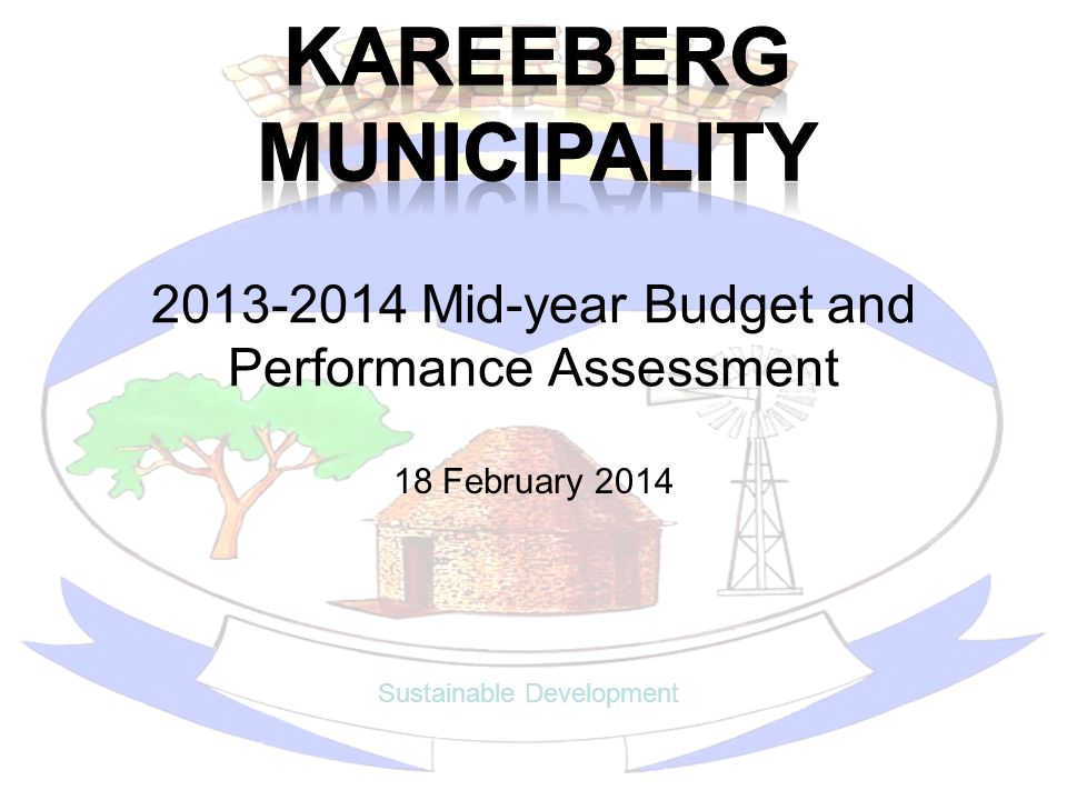 2013-2014 Mid-year Budget and Performance Assessment