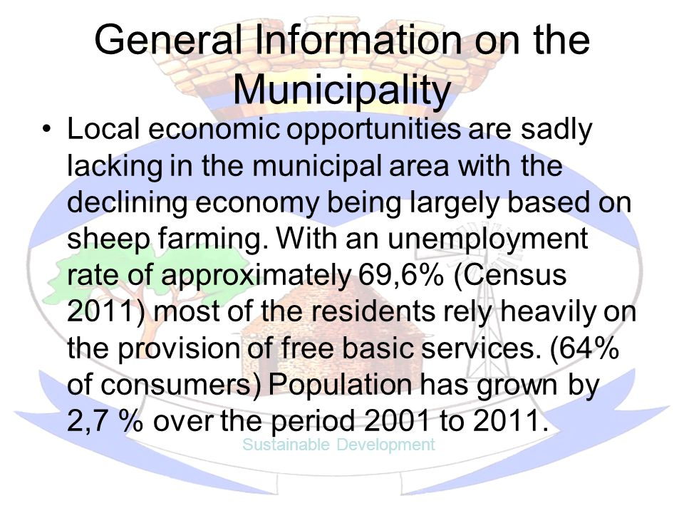 General Information on the Municipality