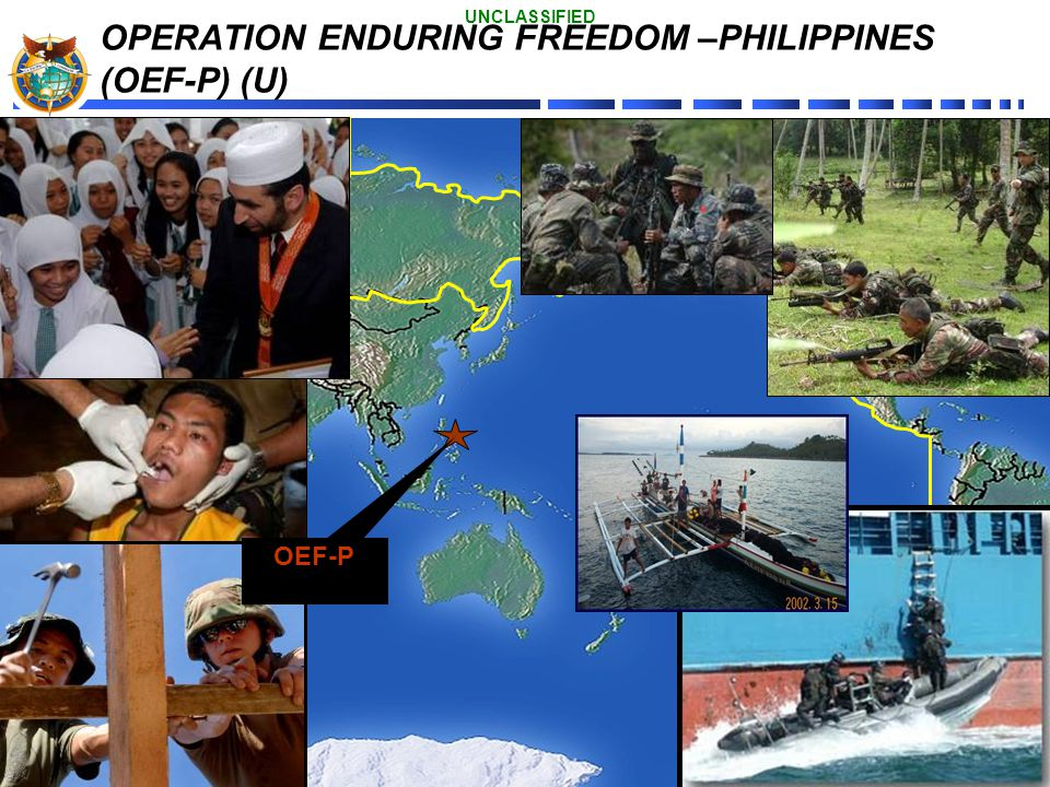OPERATION ENDURING FREEDOM –PHILIPPINES (OEF-P) (U)