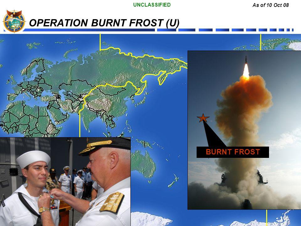 OPERATION BURNT FROST (U)