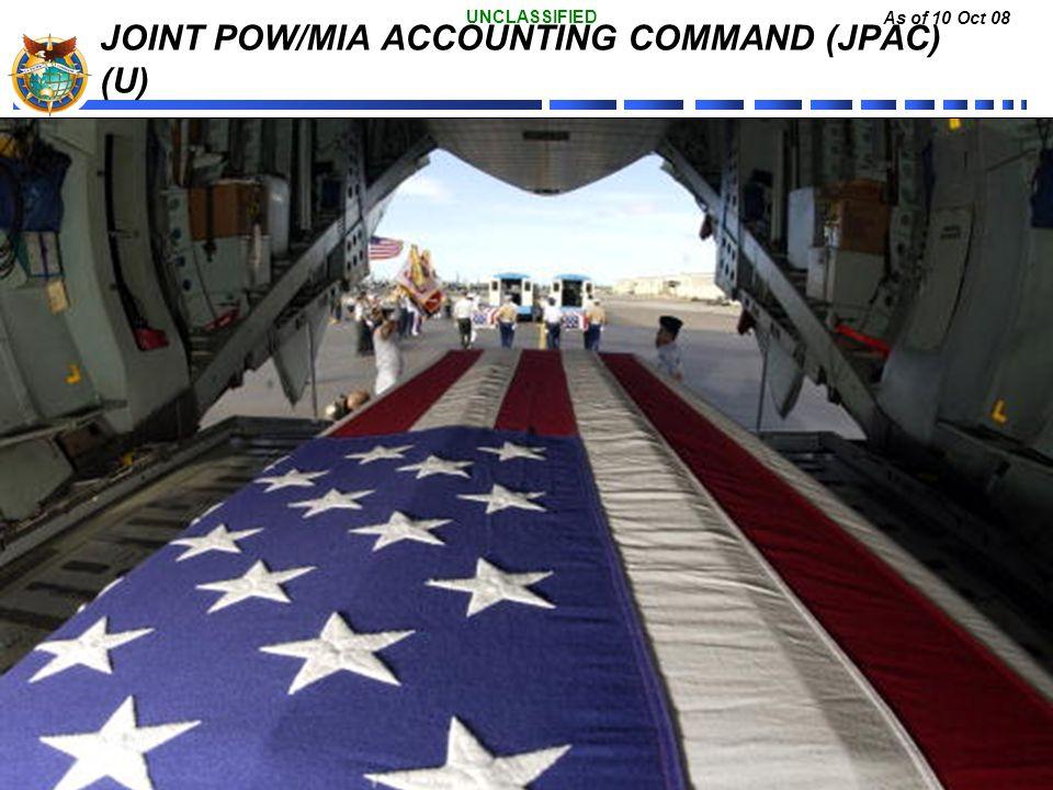 JOINT POW/MIA ACCOUNTING COMMAND (JPAC) (U)