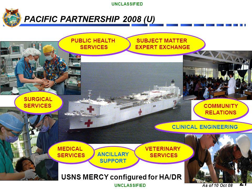 PACIFIC PARTNERSHIP 2008 (U)