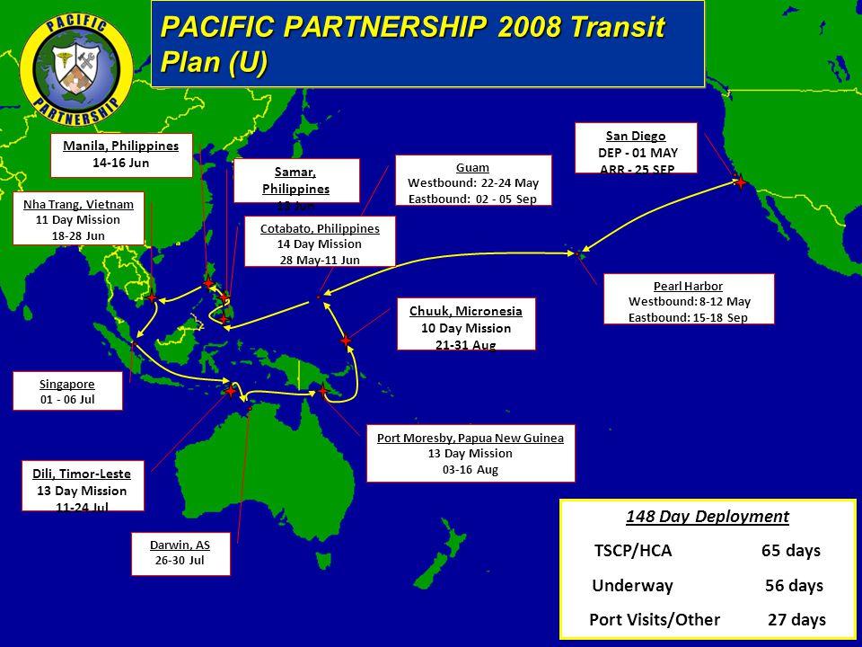 PACIFIC PARTNERSHIP 2008 Transit Plan (U)