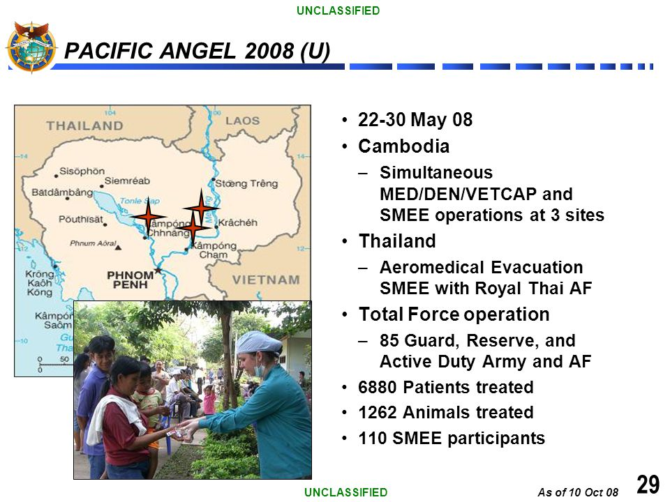 29 PACIFIC ANGEL 2008 (U) 22-30 May 08 Cambodia Thailand
