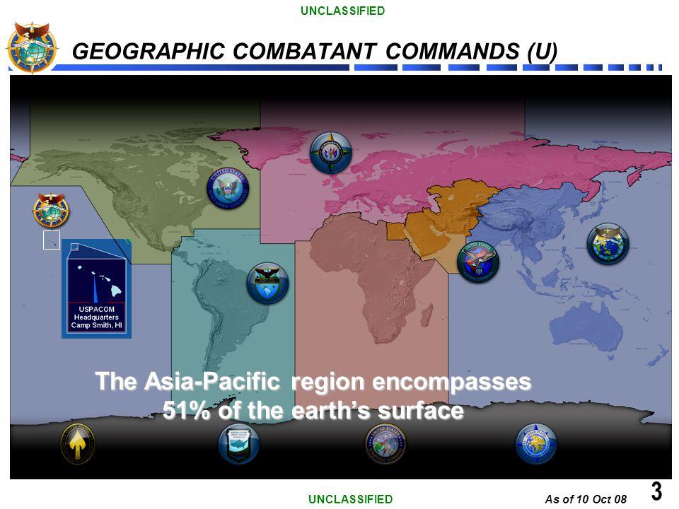 GEOGRAPHIC COMBATANT COMMANDS (U)