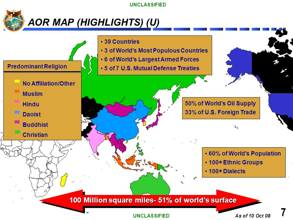 AOR MAP (HIGHLIGHTS) (U)