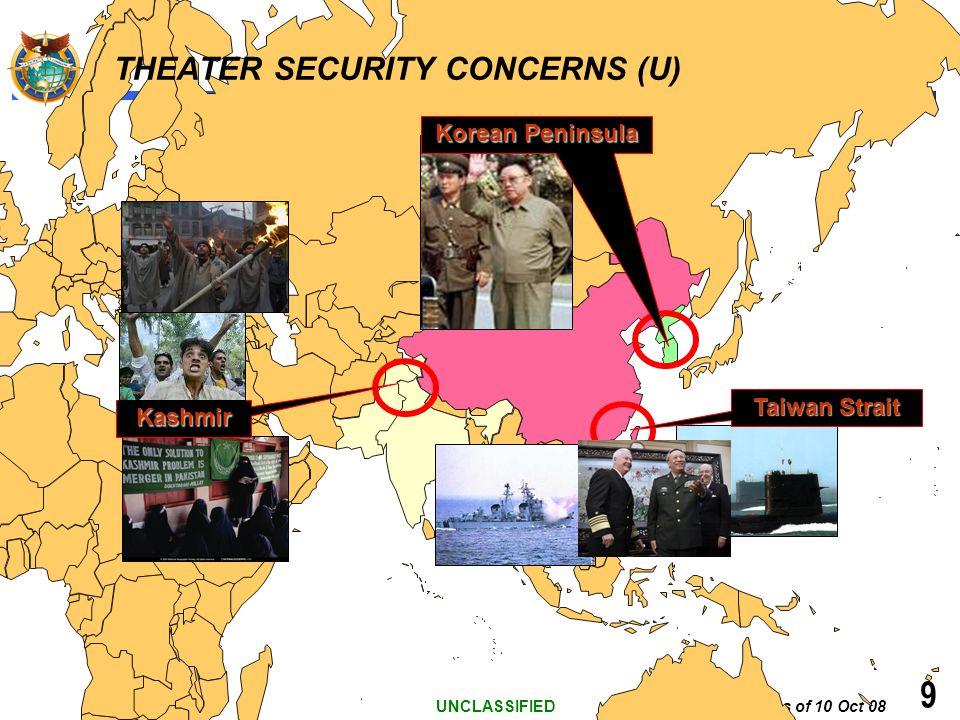 THEATER SECURITY CONCERNS (U)