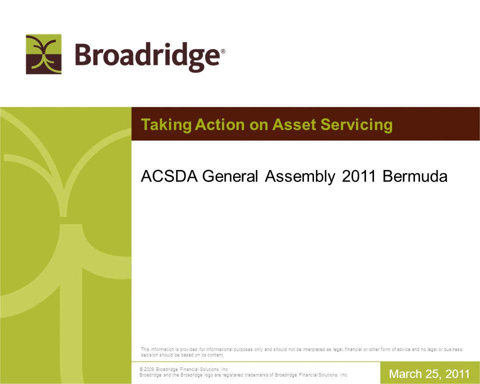 Broadridge / Euroclear Proxy Voting Service