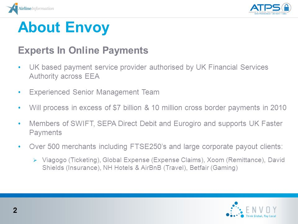About Envoy Experts In Online Payments
