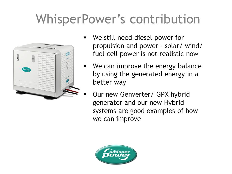 WhisperPower's contribution