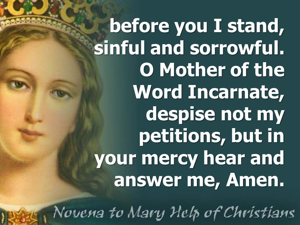 before you I stand, sinful and sorrowful