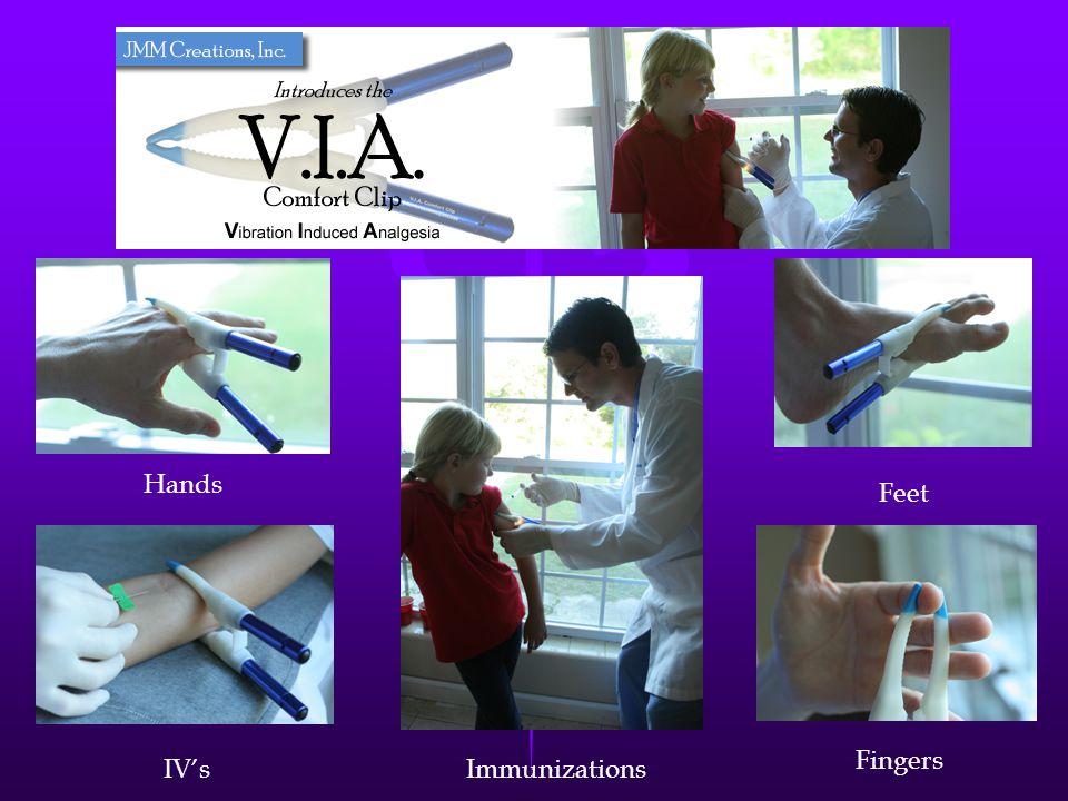 The V.I.A. Hands Feet Fingers IV's Immunizations