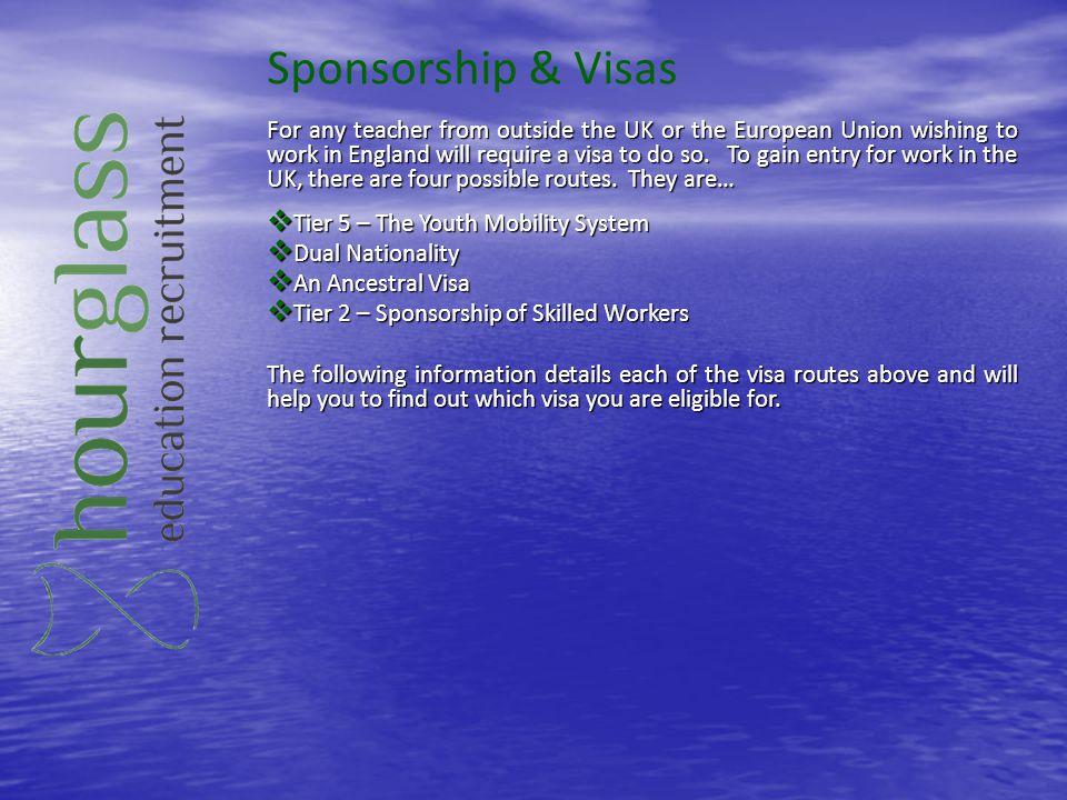 Sponsorship & Visas