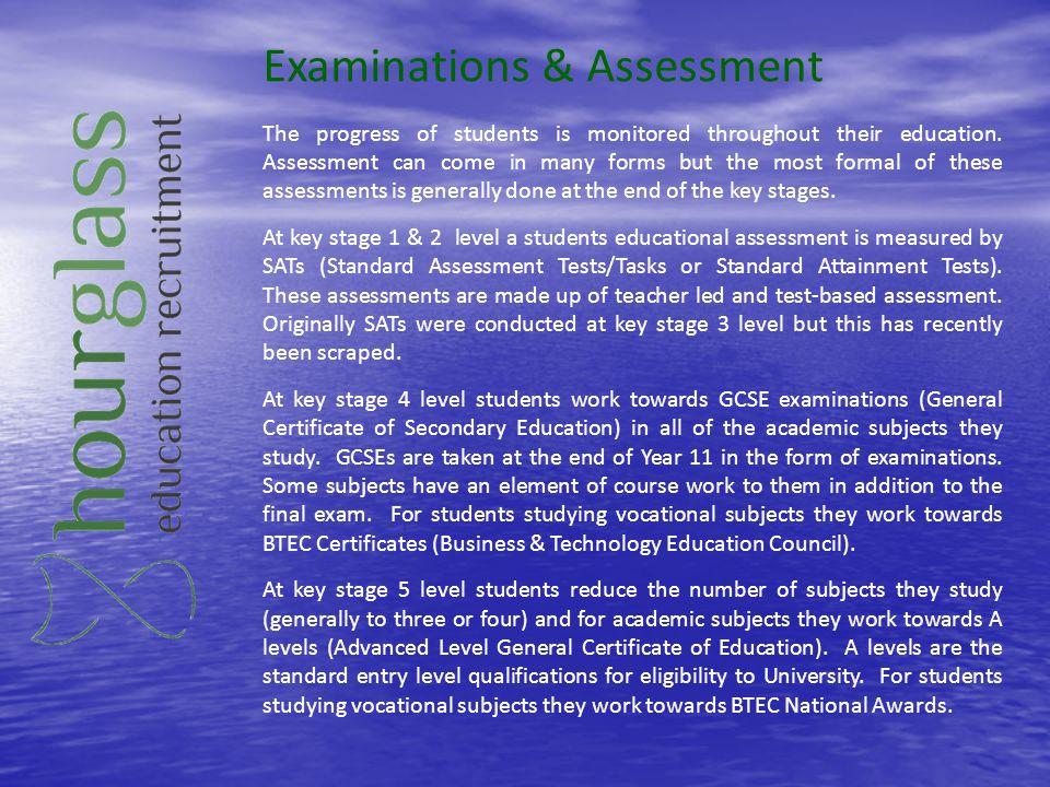 Examinations & Assessment