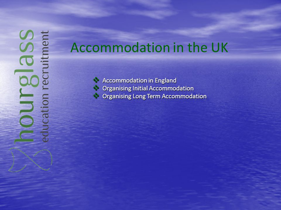 Accommodation in the UK