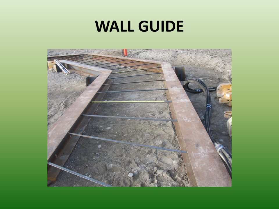 WALL GUIDE