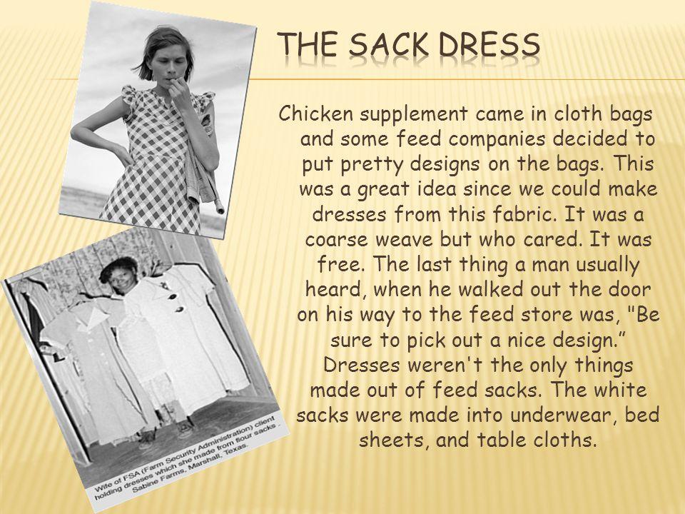 The Sack Dress